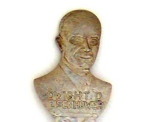 Souvenir Spoon - Presidental Commemorative - Eisenhower
