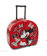 Disney Minnie Mouse Rolling Luggage Red Overnig... - $129.95