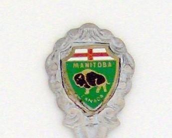 Souvenir Spoons - Canada - Manitoba