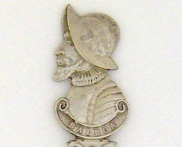 Souvenir Spoon - Historical Commemorative - Balboa