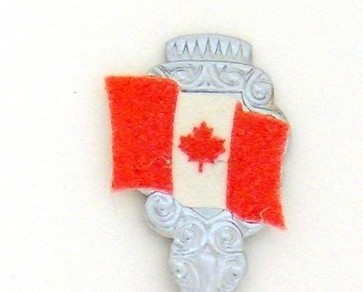 Souvenir Spoon - Canada
