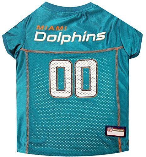 NFL MIAMI DOLPHINS DOG Jersey, Large