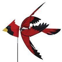 "37"" CARDINAL Bird Whirligig Wind Spinner Windso... - $55.00"