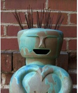 "Ceramic ""Buddha Man"" Figurative Sculpture - $8,900.00"