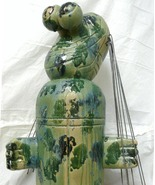 "Ceramic ""The Tourist "" Figurative Sculpture - $8,300.00"