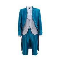 Men's Victorian Regency Tailcoat Steampunk Tailcoat Vest Shirt Pants Set - $115.34