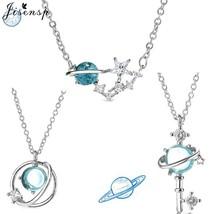 Jisensp Fashion Star Choker Necklaces Universe Planet Jewelry Luxury Cry... - $10.44