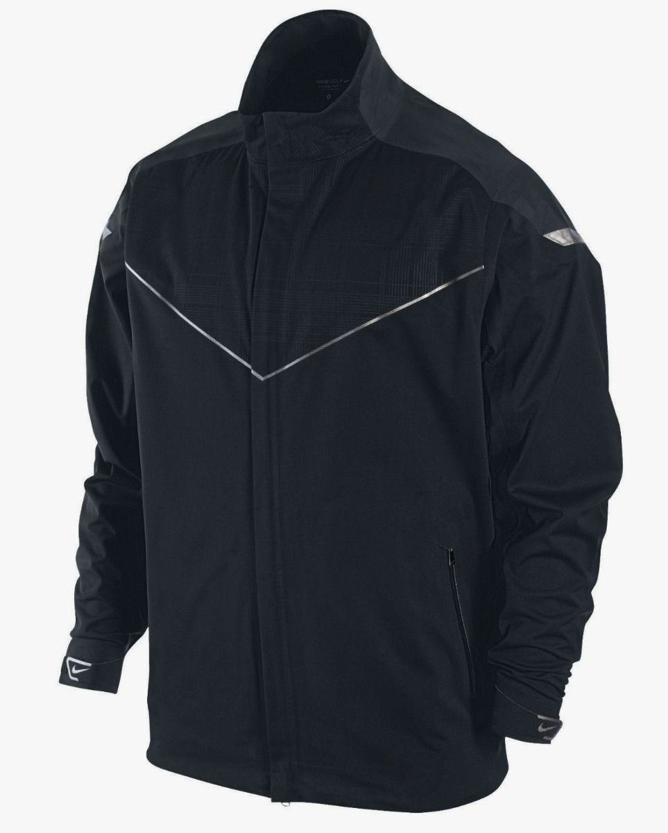 Primary image for NEW NIKE GOLF STORM FIT FULL ZIP PREMIUM BLACK JACKET COAT MENS S SM 416272 $300