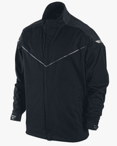 NEW NIKE GOLF STORM FIT FULL ZIP PREMIUM BLACK JACKET COAT MENS S SM 416272 $300 - $140.20