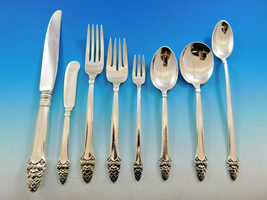 Sovereign Old by Gorham Sterling Silver Flatware Set 103 Pieces Stylized Acorn - $5,700.00