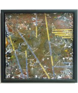 Directions-Encaustic Original  Painting - $525.00
