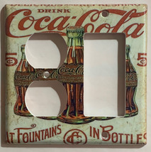 5 Cents Coke Bottles Old Poster Light Switch Outlet Wall Cover Plate Home Decor image 9
