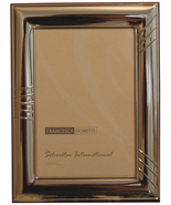 Sterling Silver Frame - Made in Italy - Engravable - $125.00