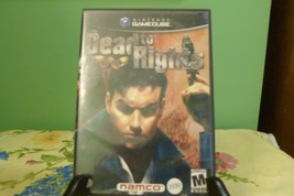 Dead to Rights (Nintendo GameCube, 2002) No Manual - VG Condition - $5.89