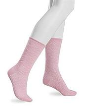 Hue femme pucker peach socks size 5-10 - $6.86