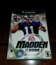 Madden NFL 2002 Nintendo GameCube Mint **Inv02946** - $5.40