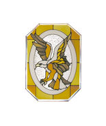 7X10 LARGE Stained Art Glass  EAGLE Hanging SUNCATCHER - $30.00