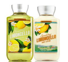 Bath & Body Works Sparkling Limoncello Body Lotion + Shower Gel Duo Set - $26.41