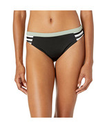 Roxy Junior's Fitness Full Bottom, True Black Beetle Stripes, Medium - $49.50