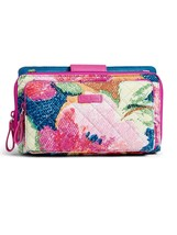 Vera Bradley Iconic Deluxe All Together Crossbody Bag, Superbloom