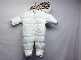Weatherproof Infant Hooded Winter Snowsuit/Gear Sz 3/6 M