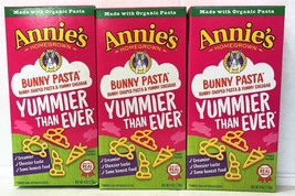 Annie's Homegrown Organic Cheddar Bunny Pasta 6 oz (3 boxes) - $7.40