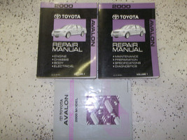 2000 Toyota AVALON Service Shop Workshop Repair Manual Set FEO W EWD - $198.18