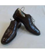 Johnston & Murphy Signature Men's Brown Shoes Sz 12N - $59.17