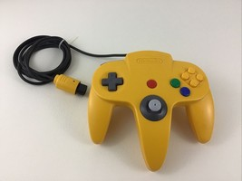 Nintendo 64 Video Game Controller Yellow Vintage 1996 N64 Authentic OEM - $53.41