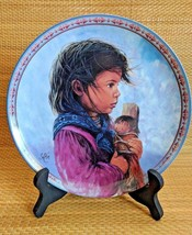A Special Friend  by Sue Etem Collector Plate - CHILDREN OF THE LAND - $9.89