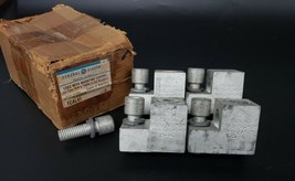 LOT OF 4 GENERAL ELECTRIC TCAL41 LUGS WITH MOUNTING SCREWS image 1