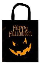 Black Halloween Trick or Treat Bag,Pumpkin Candy Basket,Party Sweet/Loot... - £1.30 GBP