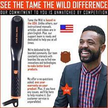 Tame's Easy Glide Beard Straightener - Fast Anti-Scald Beard Straightening Comb  image 5