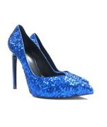 P-424109 New Saint Laurent Petite Paillettes Sequin High Heels Size US 9... - $247.34