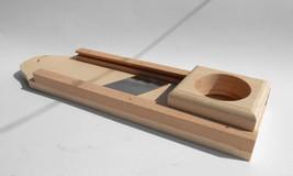 Wooden Vegetable Slicer 12inch - 30cm Long Cutter Triple Blade Mandoline... - $23.20