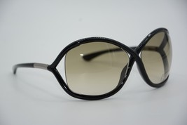 TOM FORD TF 9 199 WHITNEY BLACK SUNGLASSES AUTHENTIC T9 64-14 W/CASE - $242.17