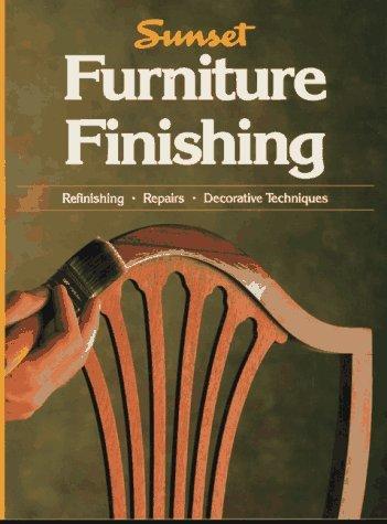Furniture Finishing Sunset Books