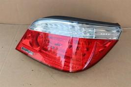 08-10 Bmw E60 LCI Sedan 525i 530i 545i Taillight Tail Light Lamp Passenger RH image 1