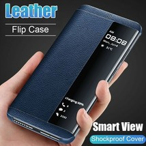 Smart View Window Flip Leather Cover Case For Samsung Galaxy S10 S9 S8 J... - $11.59+