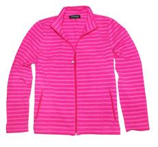 Jones New York Women's Full Zip Mock Neck Jacket, Azalea, X-Large - $12.82