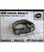 Survival bracelet od green thumbtall