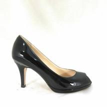 6.5 - Cole Haan Black Patent Carma OT. Air Pump Black Patent Heels w/ Box 0819KV - $45.00