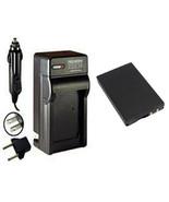 BP-80W, Battery + Charger for Samsung VP-DX105, VP-DX200, VP-DX205, VP-D... - $22.46