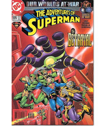 The Adventures of Superman Comic Book #595 DC Comics 2001 NEAR MINT NEW ... - $3.50