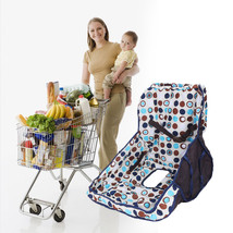 Baby Shopping Trolley Cart Cover Seat Protective Pad Kid Dining Chair Cus - $49.00