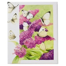 Butterfly Garden 8x10 Wrapped Canvas Art by Marjolein Bastin Wall Hangin... - $24.70