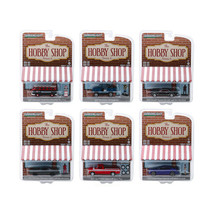 New The Hobby Shop Series 6, Set of 6 Cars 1/64 Diecast Models by Greenl... - $59.14