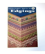 1959 Coats & Clark's Edgings for Every Purpose -Book No. 105 - Tatting -... - $6.99