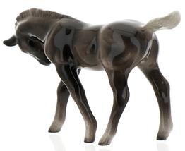 Hagen-Renaker Miniature Ceramic Horse Figurine Silver Black Morgan Colt image 6