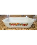 Vintage Anchor Hocking Nature's Bounty Meatloaf or Bread Casserole Dish #441 - $15.90